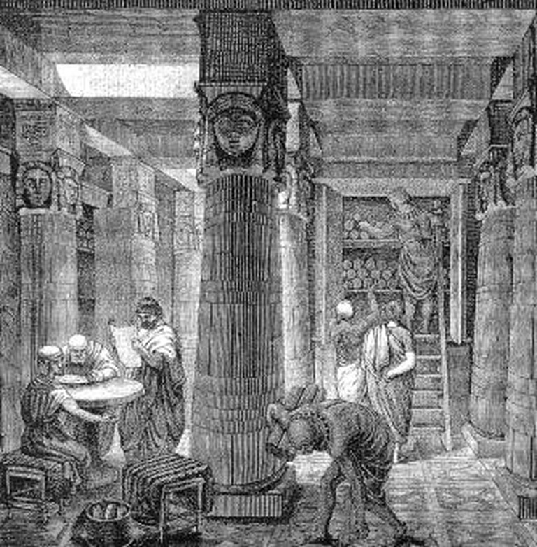 Ancient Library of Alexandria
