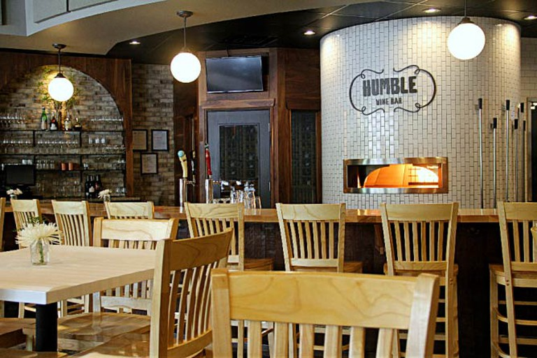Inside Humble Wine Bar's dining room | Courtesy Humble Wine Bar