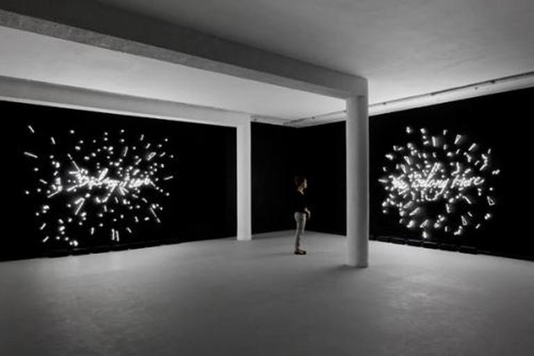 Tavares Strachan, You Belong Here (Installation view), DVIR Gallery, 2012, dvirgallery.com