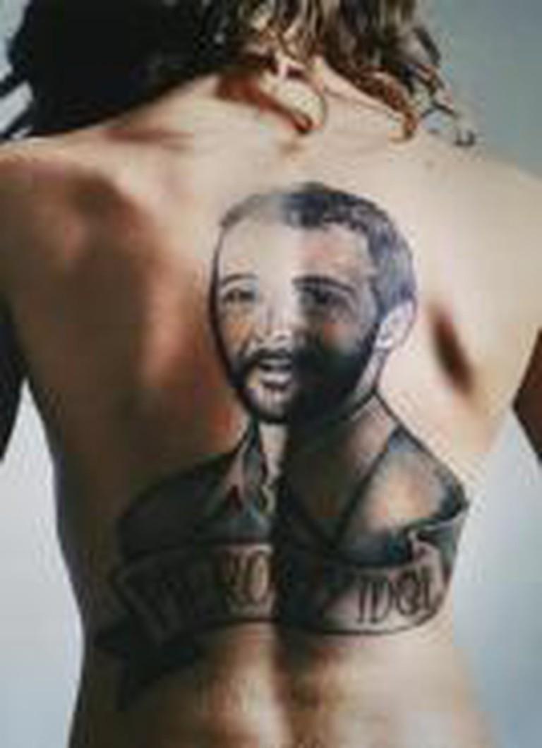 Tattoo, Piero Golia, 2001