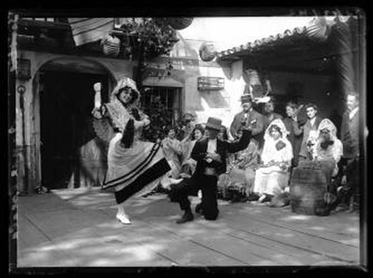 Flamenco Dancers Spain