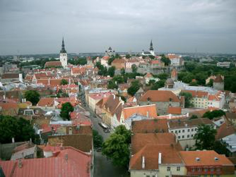 Tallinn Skyline, Estonia