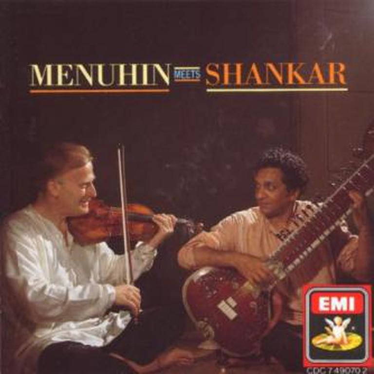 Shankar and Menuhin