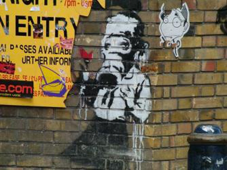 Street Art London - Geo Street Art