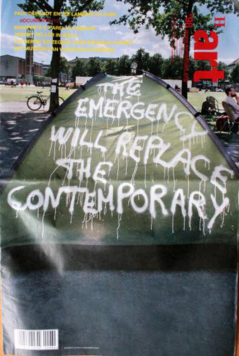 The Emergency Will Replace The Contemporary by Colonel/Thierry Geoffroy