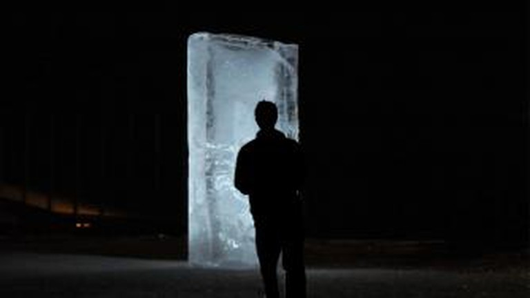 Stefano Cagol The Ice Monolith