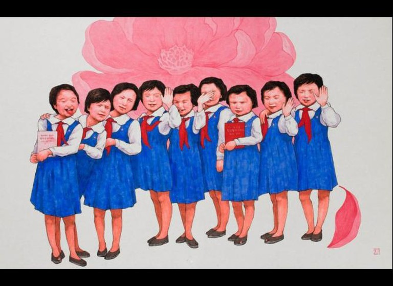 North Korean Dissident Song Byeok's Satirical Artworks