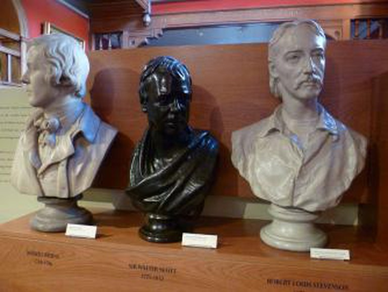 Robert Burns, Sir Walter Scott, Robert Louis Stevenson