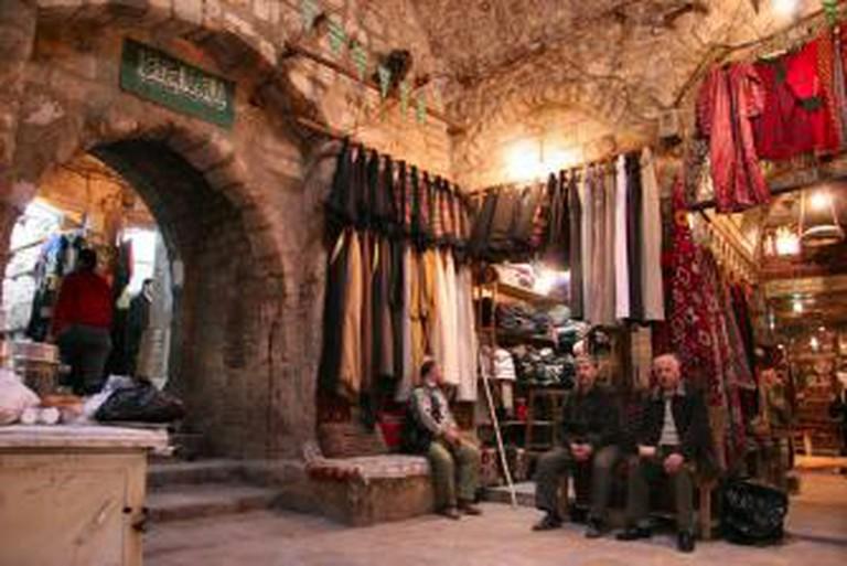 Al-Madina Souq in the City of Aleppo