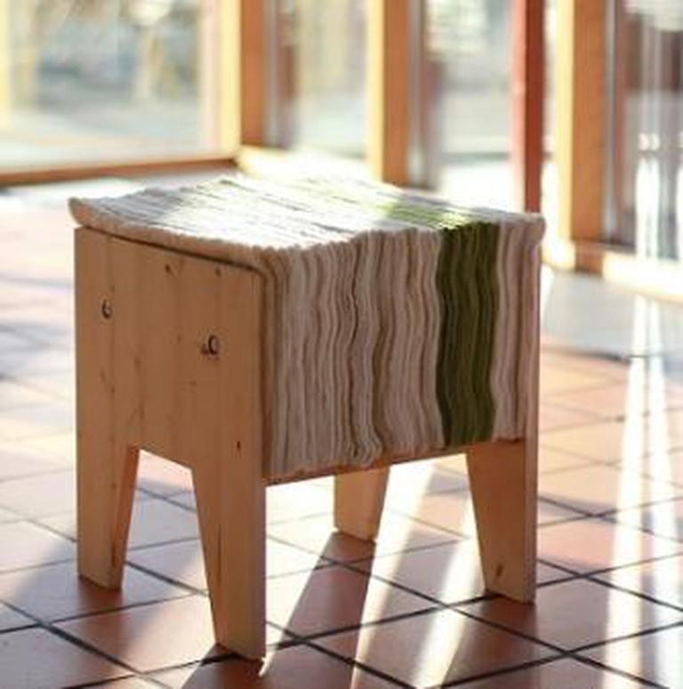 Eitt A felt stool