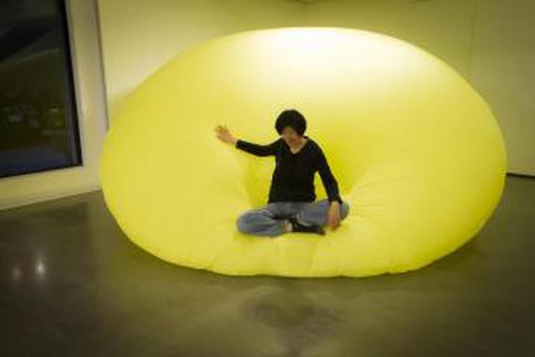 Wang Te-Yu installaion balloon