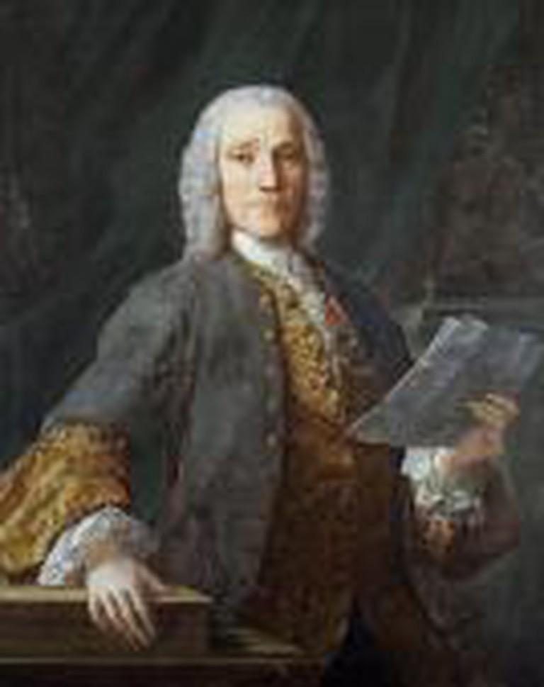 Retrato de Domenico Scarlatti