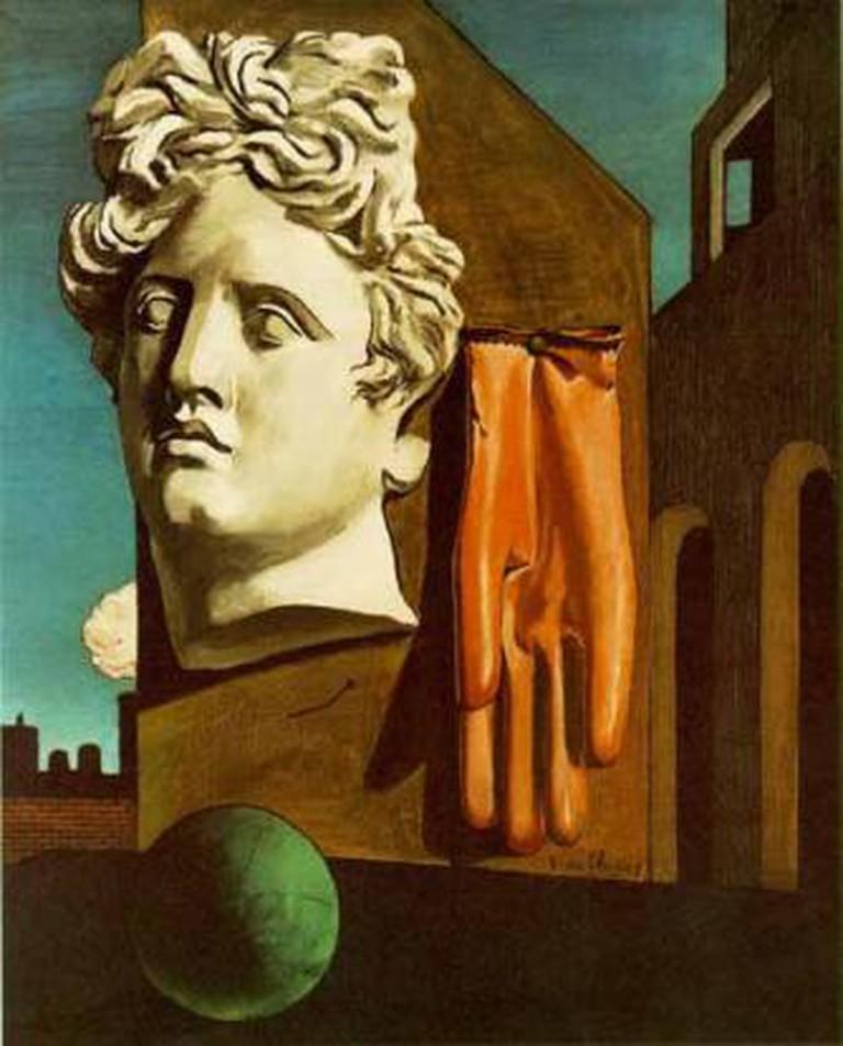 Giorgio De Chirico, 'Love Song', 436 × 540 cm, 1914 | Courtesy of California Institute of Technology