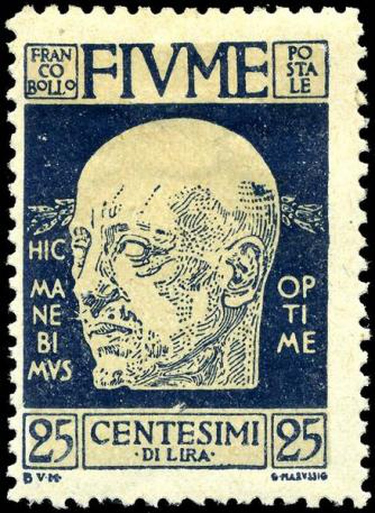 Stamp Fiume
