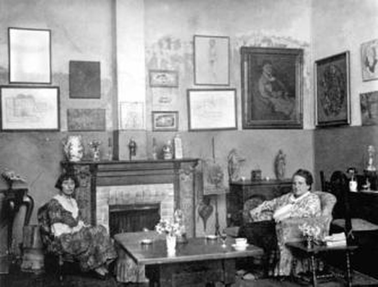 Salon at 27 rue De Fleurus