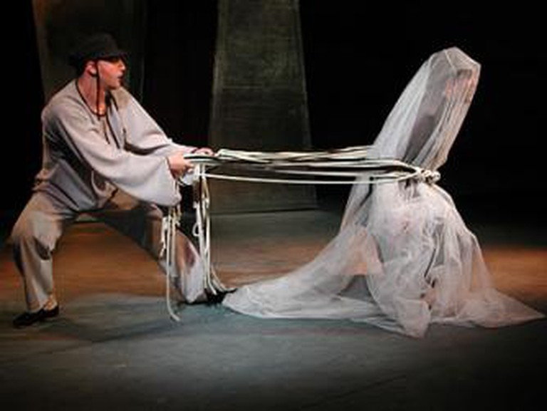 Serper's production of The Dybbuk