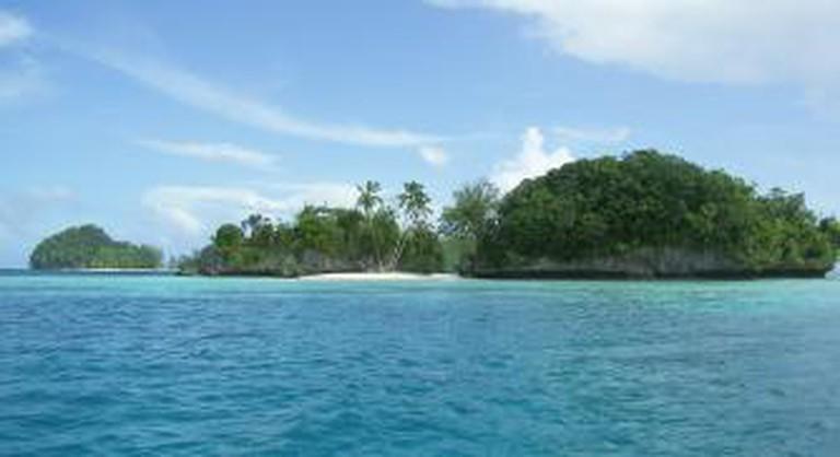 The Micronesian archipelago of Palau