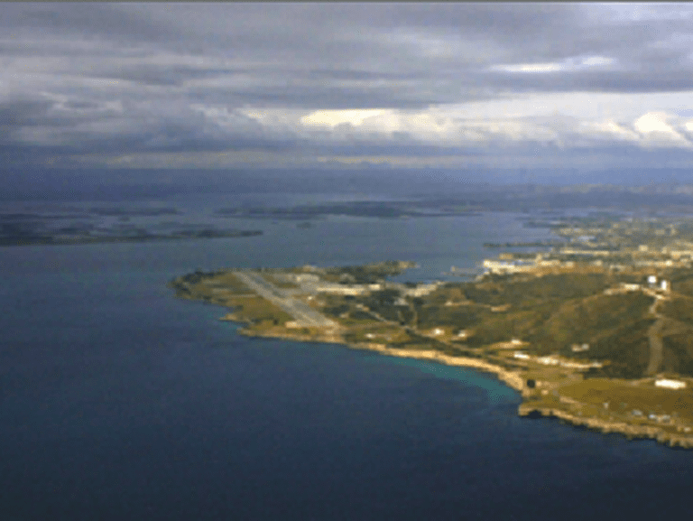 Guantánamo Bay Aerial View