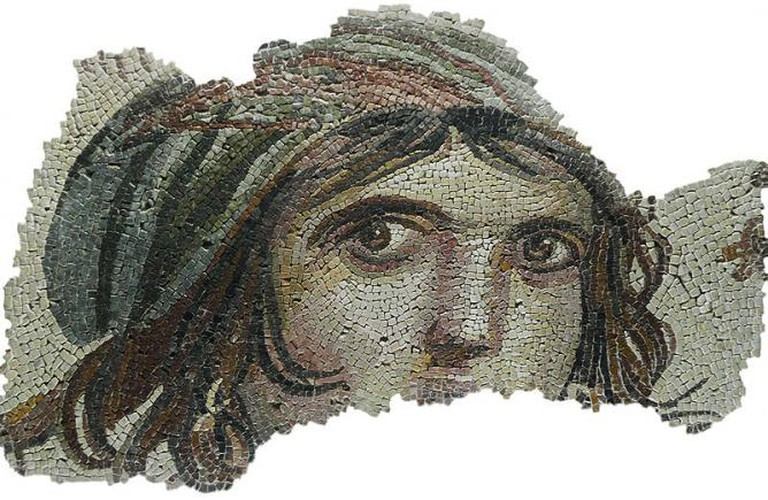 Zeugma Museum , 'Gypsy Girl'