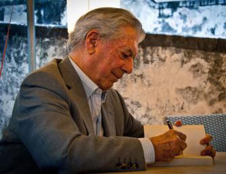Mario Vargas Llosa   © Daniele Devoti/WikiCommons