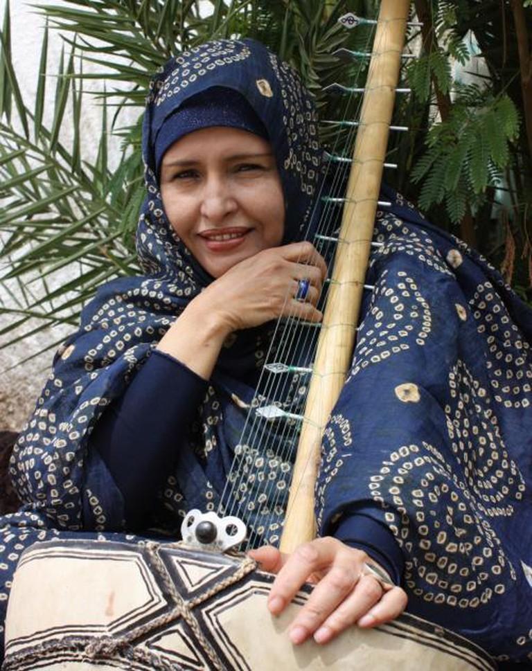 Malouma, Mauritanian Musician