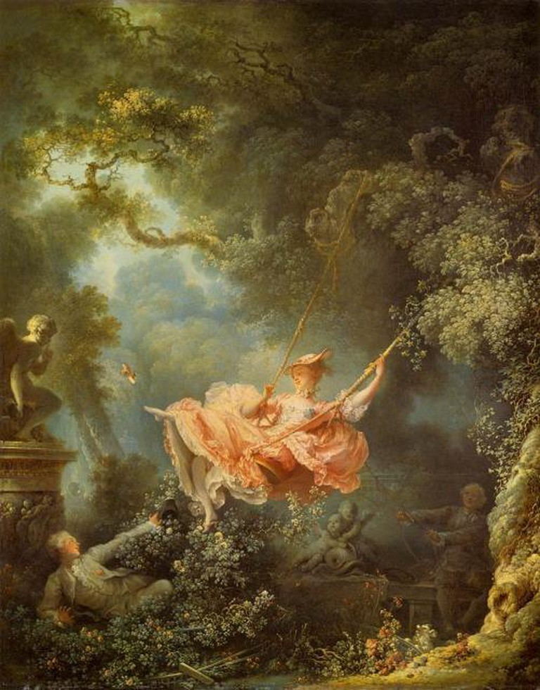 Jean-Honoré Fragonard, The Swing