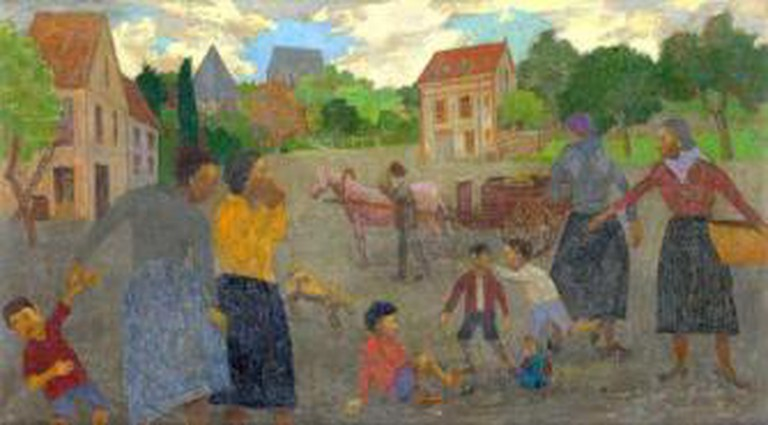 © Grégoire Michonze, Village Scene/Prodan Romanian Cultural Foundation