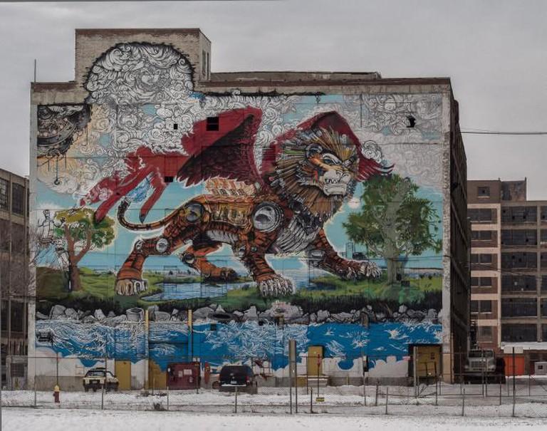 Chimera Mural
