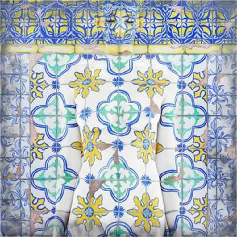 Emma Hack, Treasured Tiles, Dwelling Facade - Lisbon, Catherine Asquith Gallery Melbourne