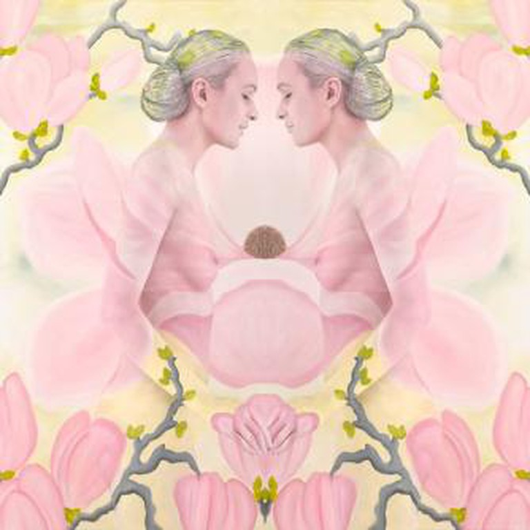 Emma Hack, Magnolia Whispers, Mirrored Whispers, Catherine Asquith Gallery