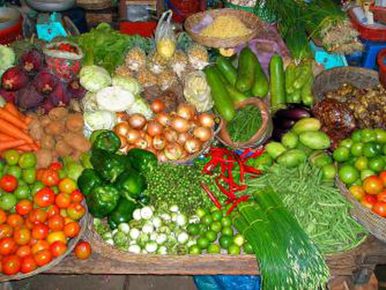 Cambodia fresh vegetables