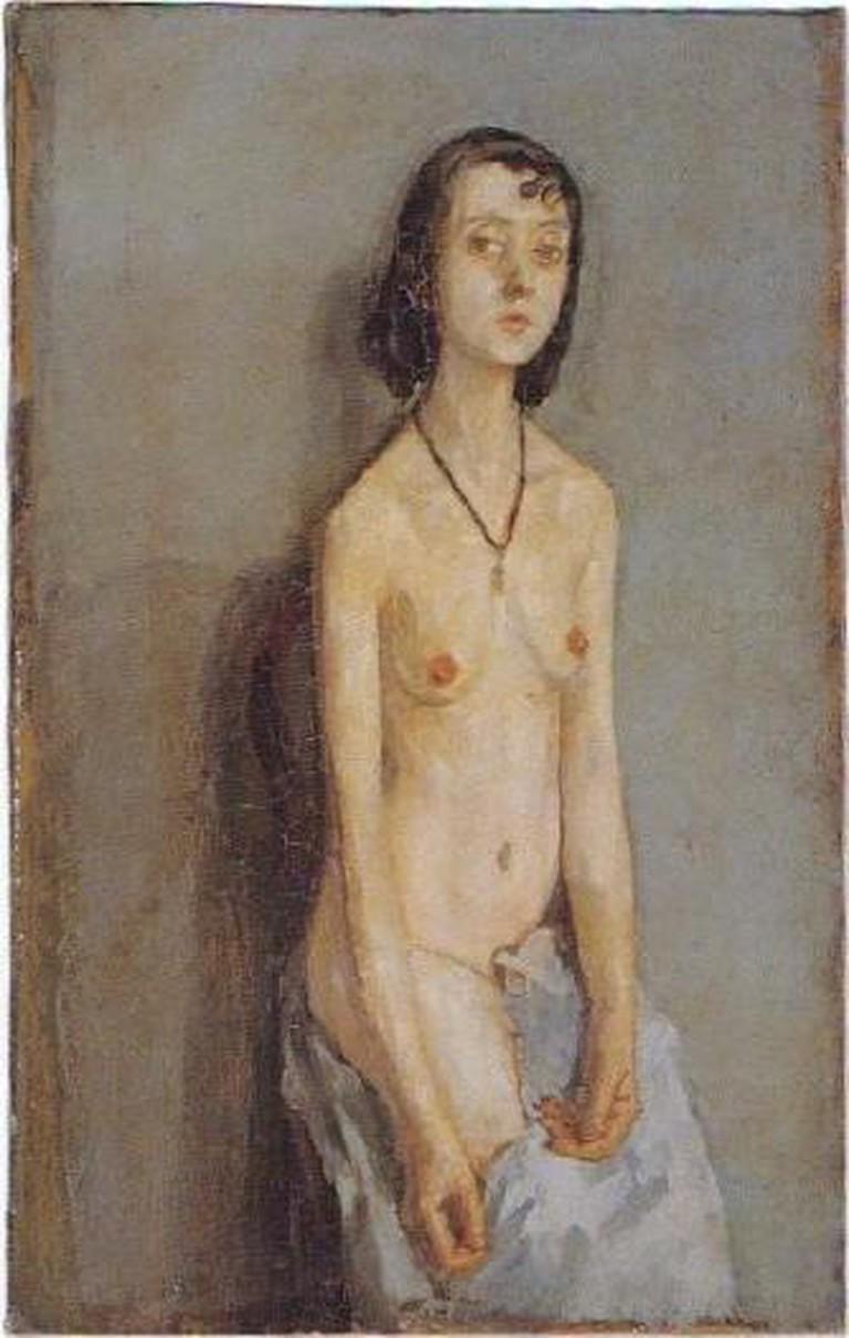 Gwen John, Nude Girl (Fenella Lovell)
