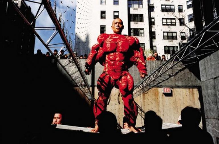Zhang Huan, My New York, Performance, Whitney Museum, New York, 2002