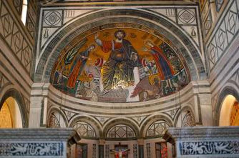 Church San Miniato al Monte, Florence, Italy