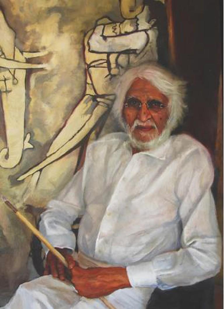 MF Hussain - Yanko Tihov