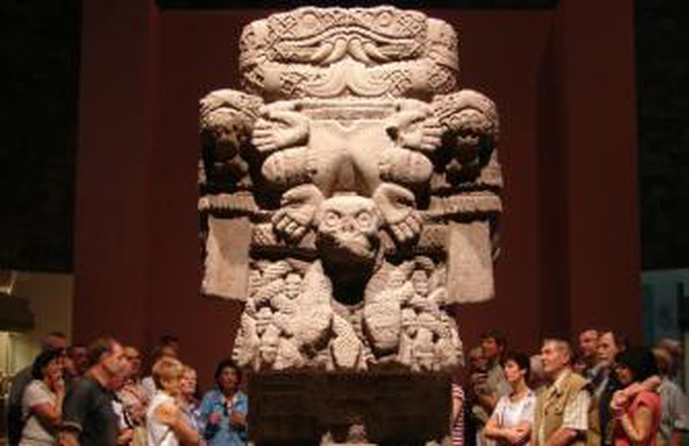 Coatlicue Statue in National Museum of Anthropology, Mexico City   © Antony Stanley/Flickr