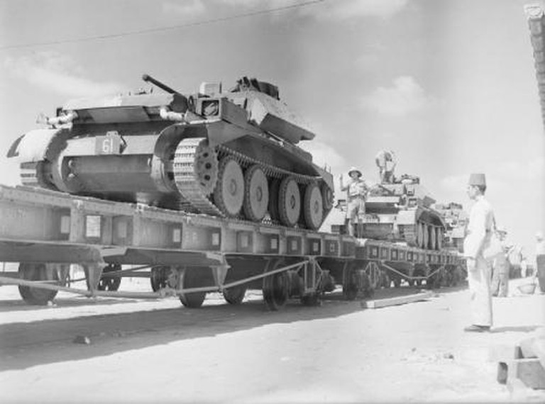 The British Army in Egypt, 1940   © Imperial War Museum/WikiCommons