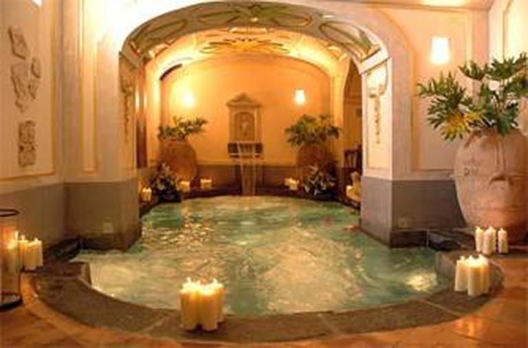 Positano, and the Magnificent Palazzo Santa Croce