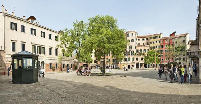 Main Square in the Jewish Ghetto, Venice, Didier Descouens/WikiCommons