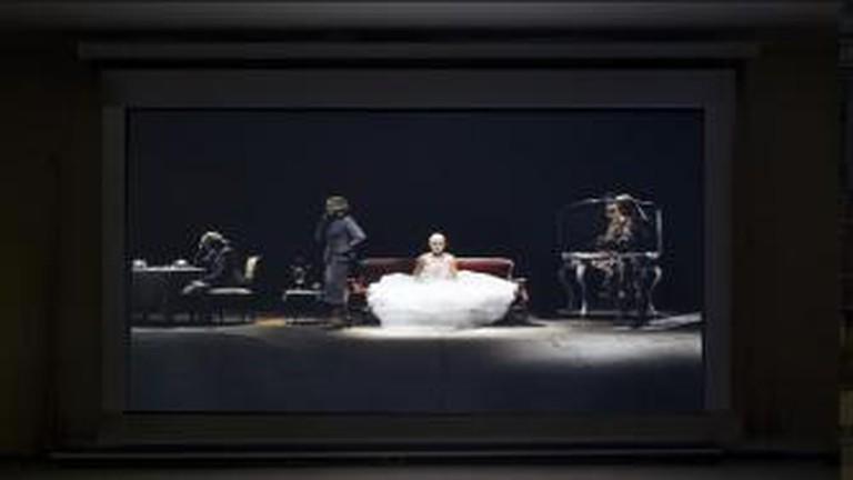SINFONIA INCONCLUSA, Eva, los Sueños, Video Installation (detail), 2012/