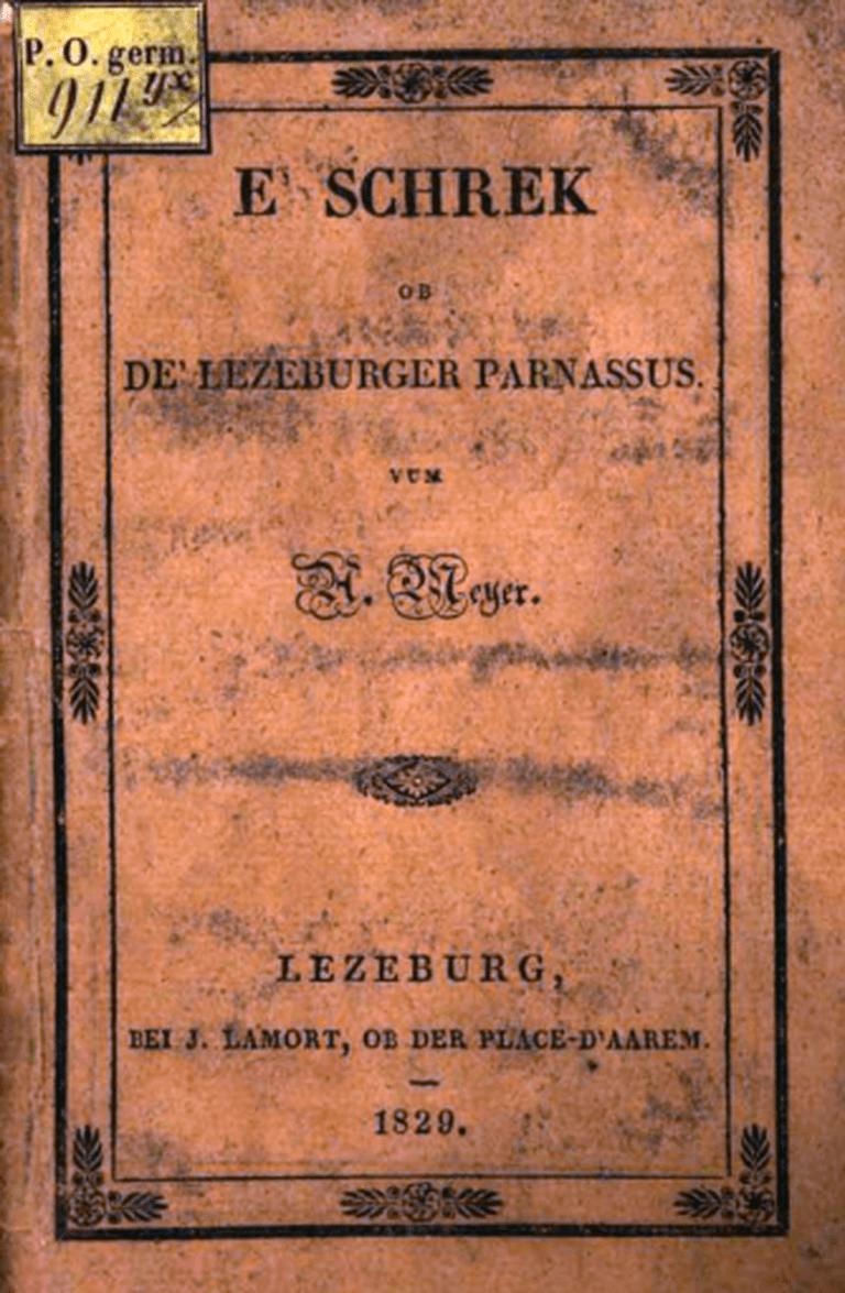 Meyer's E' Schrek op de' Lezeburger Parnassus
