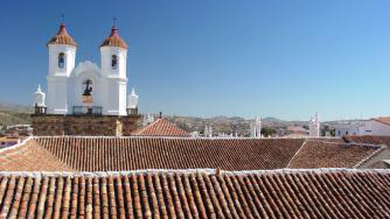 Sucre Cathedral roof