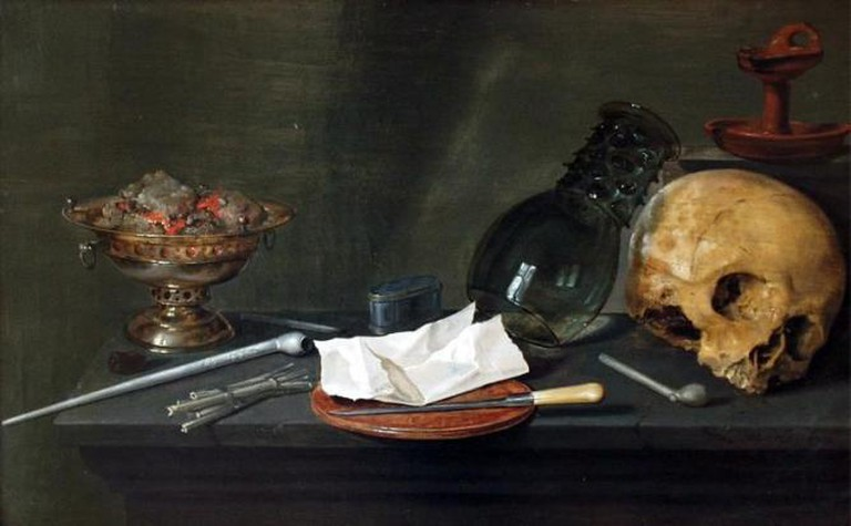 Willem Claeszoon Heda, Still Life Vanitas (1628)