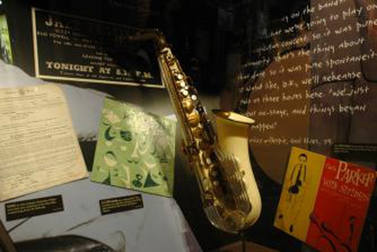Charlie Parker Grafton Saxophone played at Massey Hall