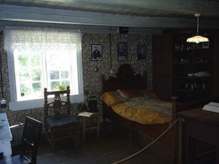 Inside Munch's House