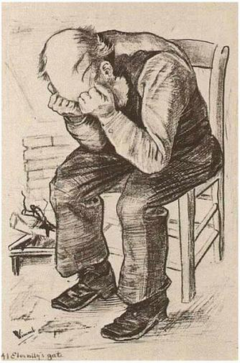Vincent van Gogh - Old Man with his Head in his Hands