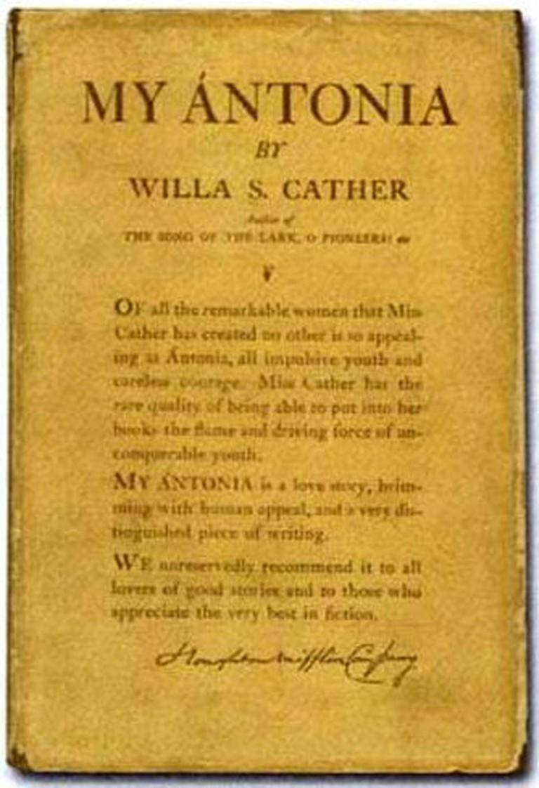 Willa Cather My Antonia