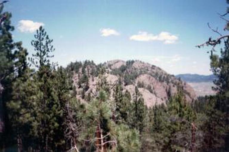 The sacred mountain of Inyan Kara.