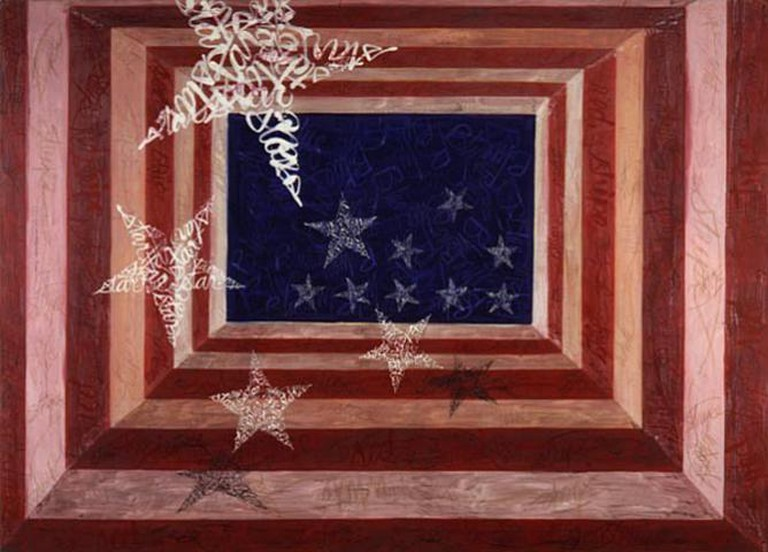 Stephen Kline, Red White and Blue Stars and Stripes