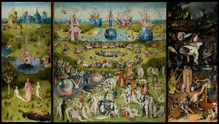 Hieronymus Bosch, The Garden of Earthly Delights, between 1480 and 1505